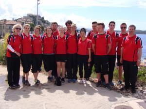 Die Mannschaft der DPV Esoirs U23