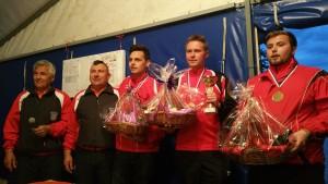 Die Sieger des Croatia Open 2016 in Sibenik: die Herren-Espoirs U23