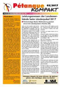 thumbnail of Petanque Kompakt Länderpokal 2017