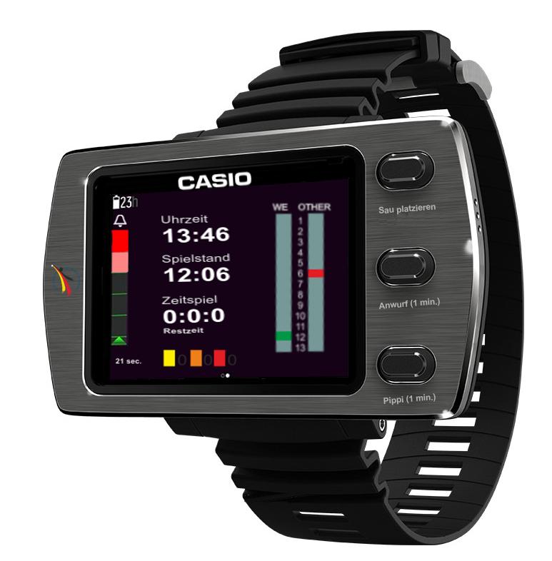 Casio Spiele Uhr